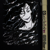 pentel-brush-pen-artist-trading-card-casey-draws-anime-manga-horror-eyes