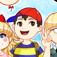 mother2-mother-earthbound-ness-paula-jeff-poo-bubble-monkey-mrsaturn-saturn-mister-casey-draws-anime-manga-game-fan-art